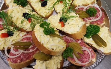 Catering: Belegte Brote